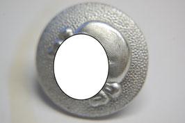 Artikelnummer: 00267 Metalltotenkopf-Knopf zum SS-VT Schiffchen