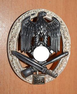 Artikelnummer : 02286 Allgemeines-Sturmabzeichen mit 25