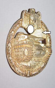 Artikelnummer : 02357 Panzerkampfabzeichen in Silber