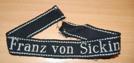 Artikelnummer: 00796 Ärmelband Franz von Sickingen
