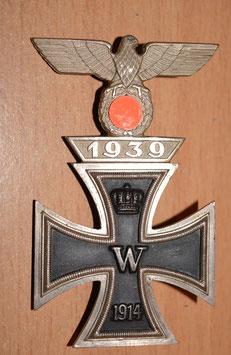 Artikelnummer: 02345 Eisernes Kreuz, 1914, 1. Klasse mit Wiederholungsspange 1939