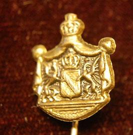 Artikelnummer: 00772 Miniatur Wappen mit Krone Baden
