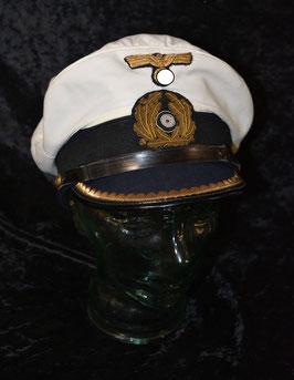 Artikelnummer : 01764 Weiße Kriegsmarine Mütze