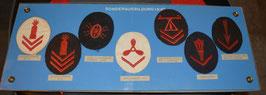 Artikelnummer : 02389 Collage von Kriegsmarine Ärmelabzeichen