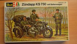 Artikelnummer: 02316  Modellbausatz Zündapp KS 750