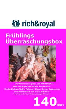 Frühlings -Überraschungsbox von RICH&ROYAL