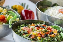 Frische, knackige Salate (pro Kg)