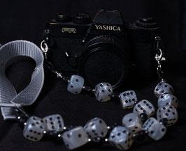 camera strap pearl