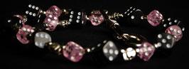 wallet chain - black pink