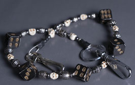 """wallet chain """"skulldice ivory"""""""