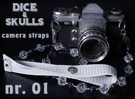camera strap transparent