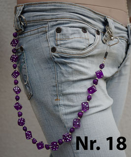 wallet chain - purple dice