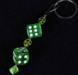 "key chain ""poison green"""