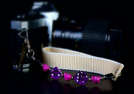 wrist strap purple
