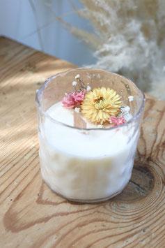 Bougie Fleurs Sauvages  Fleurs de Tiaré (BOT02)