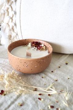 Bougie Terracotta- Fleurs de Coton