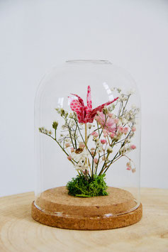 Cloche Fleurs