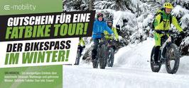 Gutschein WINTERBIKEN - geführte Fatbike-Tour in Windischgarsten