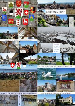 Postkarten Murten Set 8 Stück