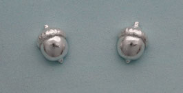 Medium  Acorn Stud Earrings - AC 2 ER