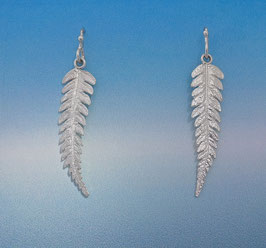 Single Fern Earring - L 14 S FW
