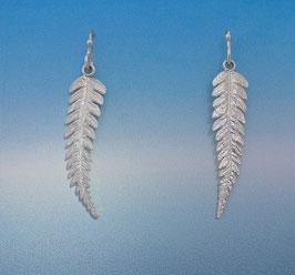 Single Fern Earring - L 14 S FW