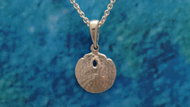 Small Sand Dollar Pendant  S 16 A P