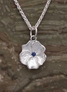 Pansy with CZ Pendant - FL 1 P