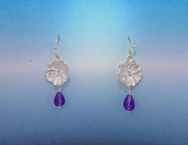 Pansy Earring with drop