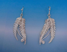 Double Fern Earring - L 14 D FW