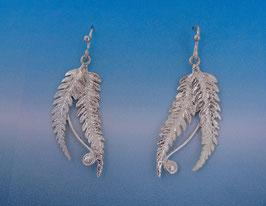 Double Fern Earring - L 14 D FW