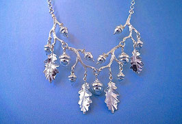 Oak leaf and Acorn Necklace
