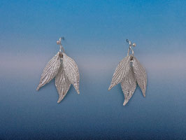 Three Leaf Dogwood Earring  L 11 FW