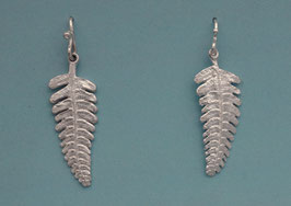 Wide Fern Earring - L 14 W FW