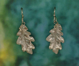 Medium Oak Leaf Earring - L 8 A FW