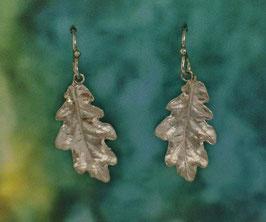 Medium Oak Leaf Earring - L 8 A FW