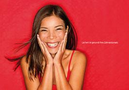 Recallkarten Motiv Lächeln 1