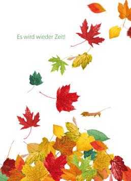 Recallkarten Motiv Jahreszeiten Herbst