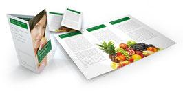 Ernährung und Mundgesundheit Flyer Motiv 1
