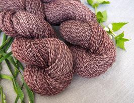 welthase tweed fingering pine bark * dyed to order