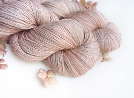 welthase baby alpaca cashmere lace Earl Grey