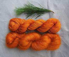 13 ADVENT CALENDAR welthase bfl pearl 50g deep pumkin - glazed carrot