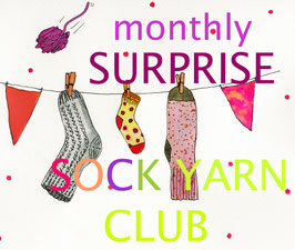 welthase`s monthly SURPRISE SOCK YARN CLUB * December *