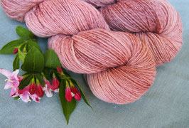 welthase tweed fingering nude rose* dyed to order