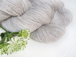 welthase baby alpaca cashmere lace light grey