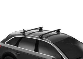 Thule Grundträger für BMW inkl. Squarebar, Fußsatz / Kit