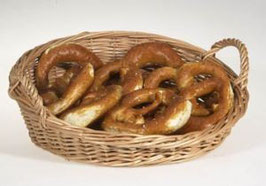 Korbbrötchenschütte oval mit Henkeln - Art. 7036