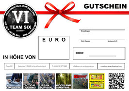 Team SIX Gutschein