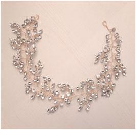 Haarband Perlen Strass Haarschmuck Braut Haarschmuck Hochzeit N2603