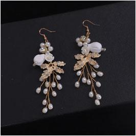 Ohrringe Strass Perlen N5101